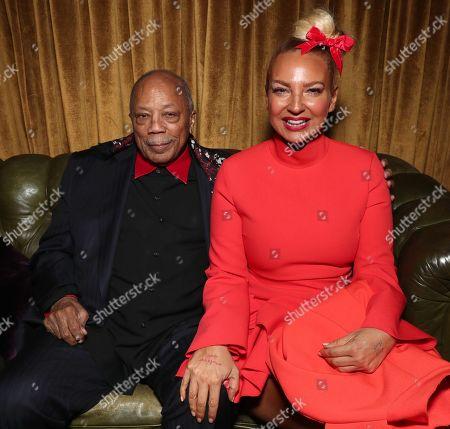 Quincy Jones and Sia Furler