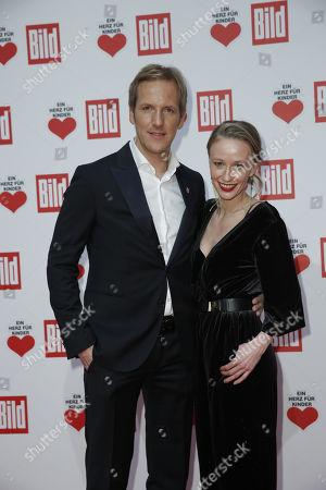 Jan Hahn and partner Constanze Wendrich