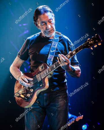 Editorial image of Chris Rea in concert at the Symphony Hall, Birmingham, UK - 29 Nov 2017