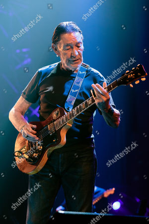 Editorial photo of Chris Rea in concert at the Symphony Hall, Birmingham, UK - 29 Nov 2017