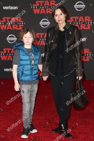 Henry Driver and Minnie Driver