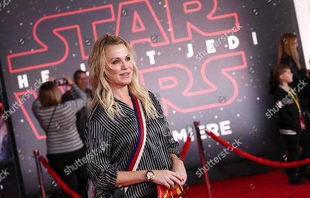 Editorial photo of 'Star Wars: The Last Jedi' film premiere, Arrivals, Los Angeles, USA - 09 Dec 2017