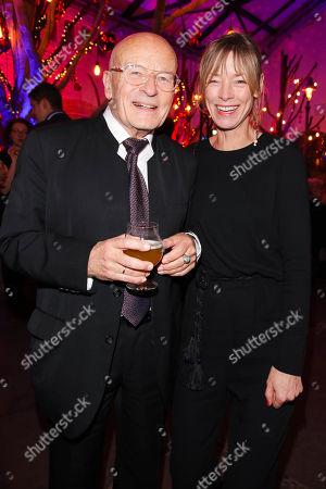 Volker Schloendorff and Jenny Schily