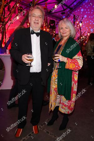 Stock Picture of Stephen Frears mit Partner Anne Rothenstein