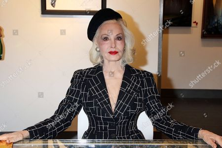 Editorial image of Animazing Gallery grand opening with Julie Newmar, Las Vegas, USA - 09 Dec 2017
