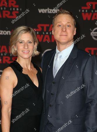 Stock Image of Charissa Barton and Alan Tudyk
