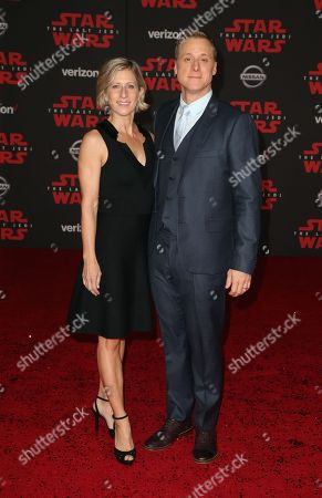Charissa Barton and Alan Tudyk