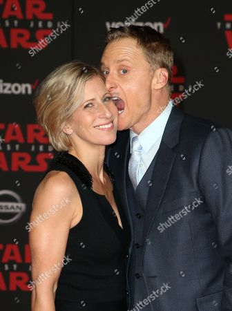 Stock Image of Charissa Barton and Alan Tudyk