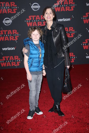Minnie Driver and son Henry Driver