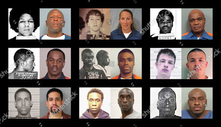 "This combination of photos shows shows younger and older photos of ""juvenile lifers,"" top row from left, William Washington, Jennifer M. Pruitt and John Sam Hall; middle row from left, Damion Lavoial Todd, Ahmad Rashad Williams and Evan Miller; bottom row from left, Giovanni Reid, Johnny Antoine Beck, and Bobby Hines. During the late 1980 and into the 1990s, many states enacted laws to punish juvenile criminals like adults and the U.S. became an international outlier, sentencing offenders under 18 to live out their lives in prison for homicide and, sometimes, rape, kidnapping, armed robbery"