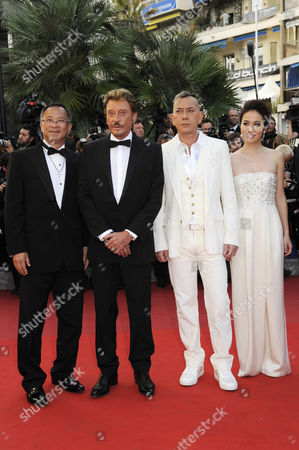 Director Johnnie To, Anthony Wong, Johnny Hallyday, Michelle Ye, Simon Yam