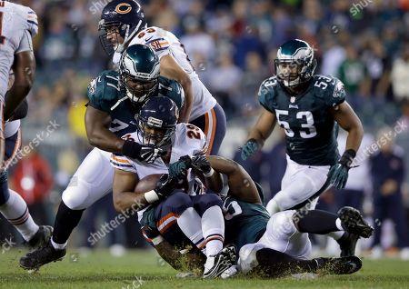 Chicago Bears' Michael Bush is seen during an NFL football game against the Philadelphia Eagles, in Philadelphia