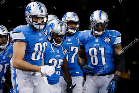 Editorial image of Buccaneers Lions Football, Detroit, USA - 7 Dec 2014
