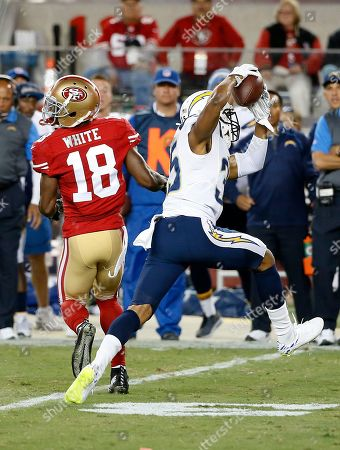 Editorial image of Chargers 49ers Football, Santa Clara, USA - 3 Sep 2015