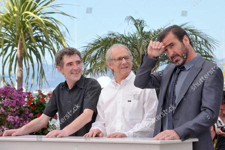 Steve Evets, Eric Cantona and Ken Loach