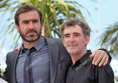 Steve Evets and Eric Cantona