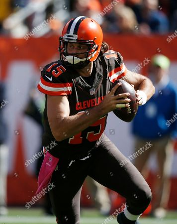 Editorial image of Patriots Browns Football, Cleveland, USA - 9 Oct 2016