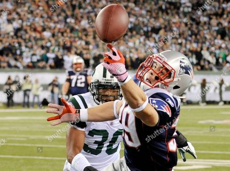Editorial picture of Patriots Jets Football, East Rutherford, USA - 13 Nov 2011