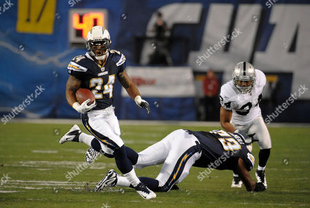 Ryan Matthews. San Diego Chargers running back Ryan Mathews (24) plays during an NFL football game against the Oakland Raiders, in San Diego