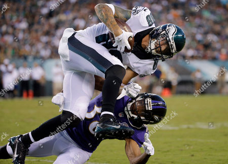 Editorial picture of Ravens Eagles Football, Philadelphia, USA - 22 Aug 2015