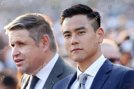 , Sha Tin, Hong Kong, China, Portrait of actor Eddie Peng (right) and Juan-Carlos Capelli.