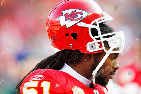 Kansas City Chiefs linebacker Corey Mays (51) during the first half of an NFL football game against the Cleveland Browns, in Kansas City, Mo