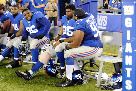 Editorial picture of Colts Giants Football, East Rutherford, USA - 18 Aug 2013