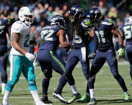 Editorial picture of Dolphins Seahawks Football, Seattle, USA - 11 Sep 2016