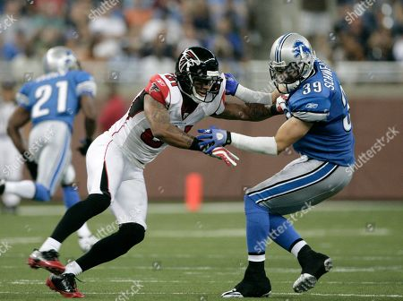 Editorial image of Falcons Lions Football, Detroit, USA - 15 Aug 2009