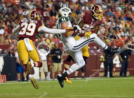 Editorial image of Jets Redskins Football, Landover, USA - 19 Aug 2016