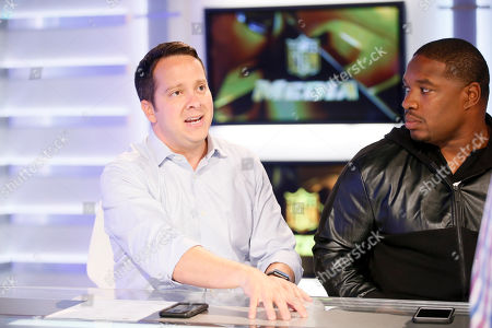 Michael Fabiano, Maurice Jones-Drew. Michael Fabiano, left, and former NFL player and NFL Network's Maurice Jones-Drew are interviewed during a media availability on set at the NFL Network studios, in Culver City, California