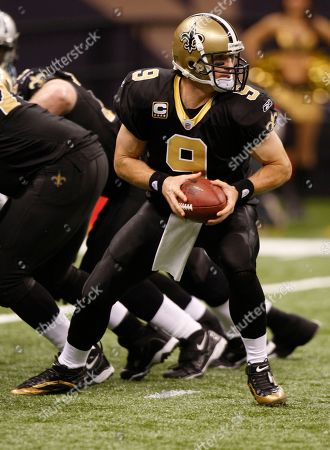 Drew Prees. New Orleans Saints quarterback Drew Brees (9) in the second half of an NFL football game in New Orleans, .The Sainst defeated the Panthers 30-20. [ (AP Photo/Bill Haber