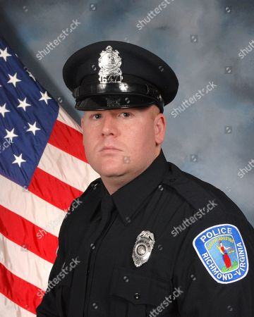 This image provided by the Richmond Police Department shows officer Jacob A. DeBoard. The Richmond police chief says an armed suspect who was killed in a shootout with police fired first and his two officers were justified in returning fire. In the Wednesday night, shooting, officer Ryan Bailey, who is black, was wounded in the arm. The other officer was DeBoard