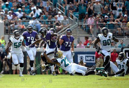 Editorial image of Ravens Jaguars Football, Jacksonville, USA - 25 Sep 2016