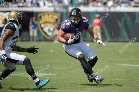 Editorial picture of Ravens Jaguars Football, Jacksonville, USA - 25 Sep 2016