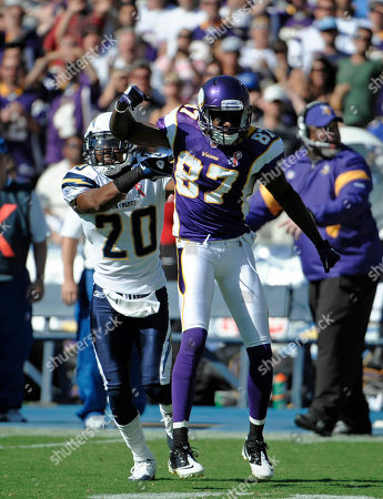 Editorial picture of Vikings Chargers Football, San Diego, USA - 11 Sep 2011