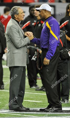 Editorial photo of Vikings Falcons Football, Atlanta, USA - 27 Nov 2011