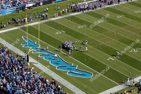 Stadium Overall, Olindo Mare. Carolina Panthers' Olindo Mare (10) kicks an extra point against the Minnesota Vikings during an NFL football game in Charlotte, N.C., . The Minnesota Vikings won 24-21