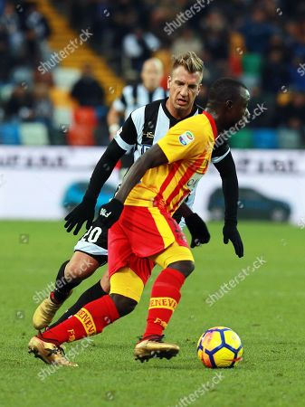 Stock Picture of Maxi Lopez and Yussif Raman Chibsah