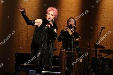 Cyndi Lauper and Ani DiFranco