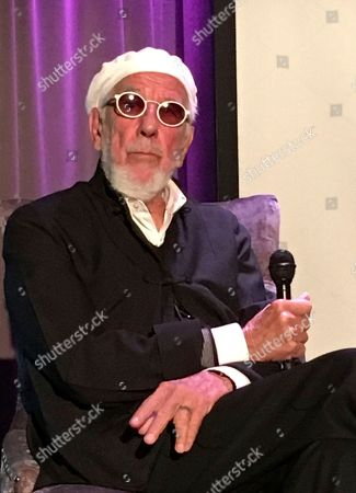 Stock Image of Grammy-winning producer Lou Adler discusses his work producing the Monterey International Pop Festival, which is marking its 50th anniversary in June 2017, at the Grammy Museum in Los Angeles