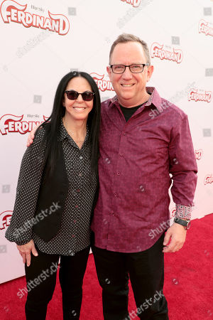 Stock Picture of Lori Forte, Producer, Bruce Anderson, Producer,