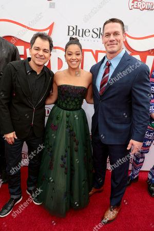 Carlos Saldanha, Director, Gina Rodriguez, John Cena