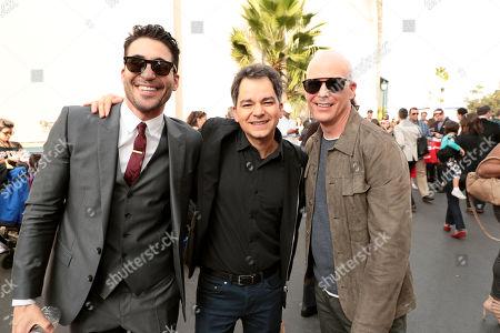 Miguel Angel Silvestre, Carlos Saldanha, Director, guest