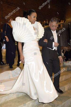 Alice Bah Kuhnke, Minister for Culture and Democracy, Kazuo Ishiguro, laureate in literature