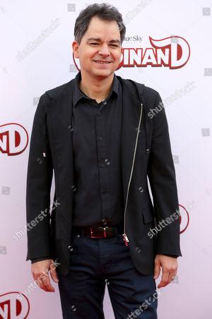 "Carlos Saldanha arrives at the LA Premiere of ""Ferdinand"" at the 20th Century Fox Studio Lot, in Los Angeles"
