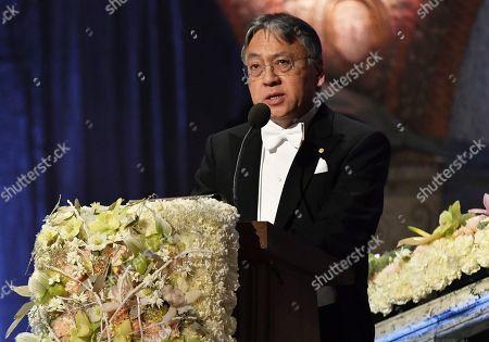 Editorial image of Nobel Prize 2017 banquet, Stockholm, Sweden - 10 Dec 2017