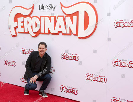 "Director Carlos Saldanha arrives at the LA Premiere of ""Ferdinand"" at the 20th Century Fox Studio Lot, in Los Angeles"