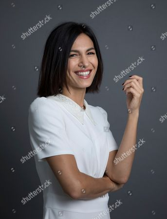 Stock Image of Elodie Yung poses for a portrait, in New York