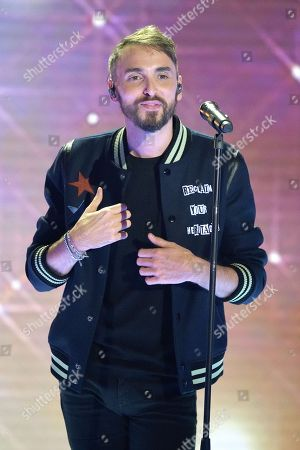 Stock Photo of Christophe Willem